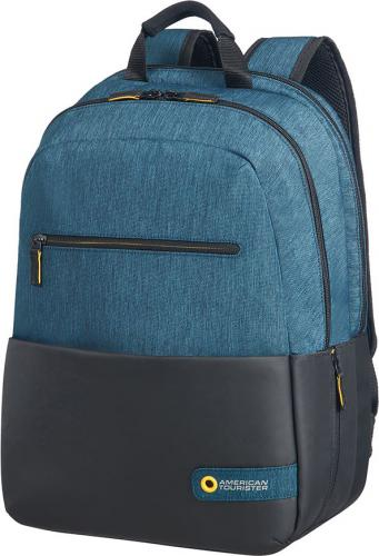 Plecak Samsonite City Drift 15,6'' czarno-niebieski (28G-19-002)