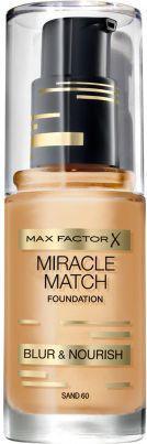 MAX FACTOR Miracle Match Foundation Podkład 60 Sand 30ml