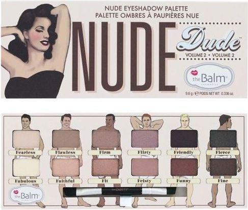 The Balm Nude Dude Volume 2 Eyeshadow Palette Cień do powiek 9,6g