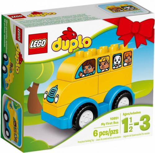 LEGO Duplo Mój pierwszy autobus (10851)