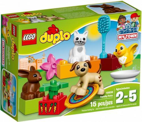 LEGO Duplo Zwierzątka domowe (10838)