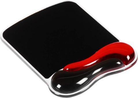 Podkładka Kensington Duo Gel Mouse Pad Czarno-czerwony