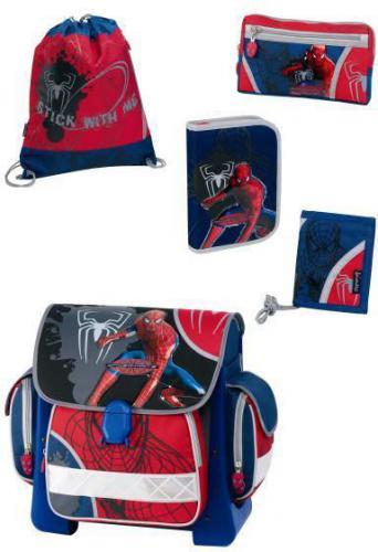 JAIMARC Plecak z zestawem Spider-Man 3 5w1 (S18081)
