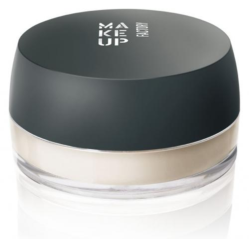 Make Up Factory Fixing Powder  - ultra sypki puder utrwalający Transparentny 8g