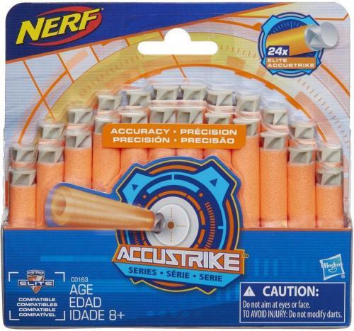 Hasbro Nerf Accustrike strzalki 24 sztuki (C0163)
