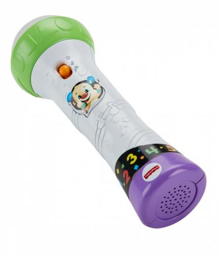 Fisher Price Mikrofon Malucha – Śpiewaj i nagrywaj! FBP38
