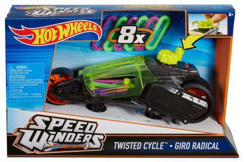 Hot Wheels Autonakręciak i motocykle, czarny (DPB66/DPB67)