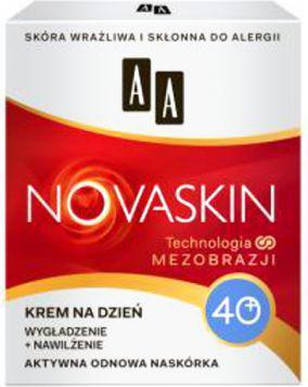 AA NOVASKIN 40+ (W) krem na dzień wygładzenie + nawilżenie 50ml