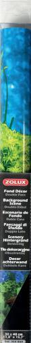 Zolux Tło akwariowe dwustronne 30 x 40 cm - korzeń/czarne