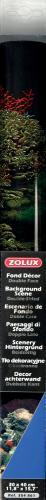 Zolux Tło akwariowe dwustronne 30 x 40 cm - koralowiec/niebieskie