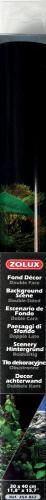 Zolux Tło akwariowe dwustronne 30 x 40 cm - rośliny czarne/rośliny niebieskie