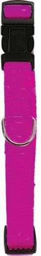 Zolux Obroża nylon regulowana 10 mm fuksja