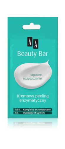 AA Cosmetics Beauty Bar - kremowy peeling wygładzający 8ml