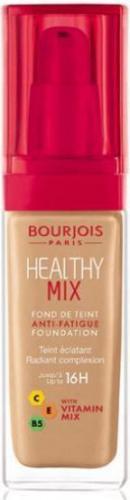 BOURJOIS Paris Podkład Healthy Mix - rozświetlający podkład do twarzy nr 055 Dark Beige