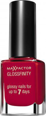 MAX FACTOR Glossfinity lakier do paznokci nr 110 Red Passion 11ml