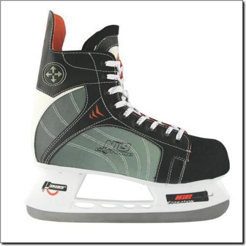 NILS Extreme Łyżwy Hokejowe NH401 S Czarny/Szary Rozm. 35 (18-1-209)