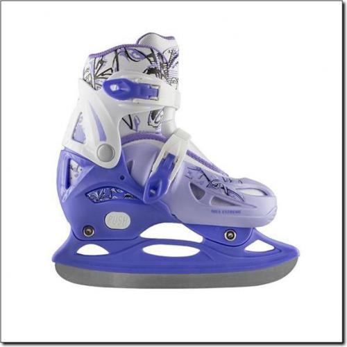 NILS Extreme Łyżwy Hokejowe NH0320 A Niebieski Rozm. S (31-34) (18-0-542)