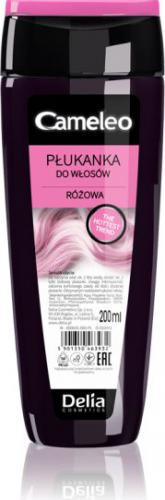 Delia Cosmetics Cameleo Płukanka do włosów różowa 200ml