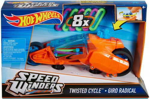 Hot Wheels Autonakręciak i motocykle, pomarańczowy  (DPB66/DPB68)