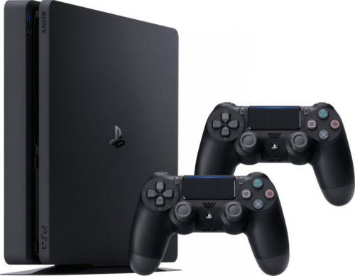 Konsola PlayStation 4 Slim 1TB + 2 kontrolery (9897255)