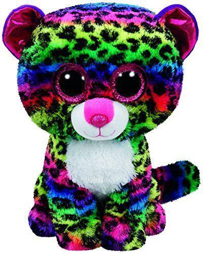 Meteor Beanie Boos Dotty - Kolorowy leopard, 24 cm  (37074)