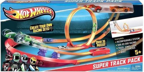 Mattel Track Builder Superpakiet torów (227135)