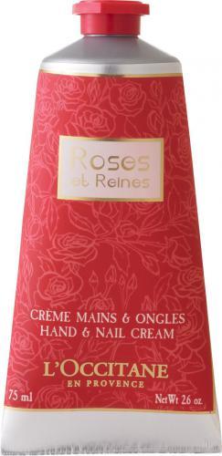 L´Occitane Roses Et Reines Hand & Nail Cream -balsam do rąk i paznokci  75ml