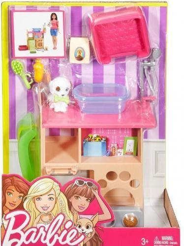 Mattel Barbie Mebelki i akcesoria. Kącik Pieska  (227599)