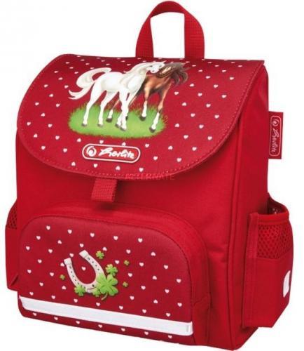 Herlitz Tornister Vorschulranzen mini softbag Horses czerwony (50008162)