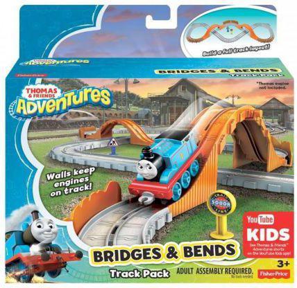 Mattel Tomek i Przyjaciele. Zestaw torów Mosty i zakręty (227640)