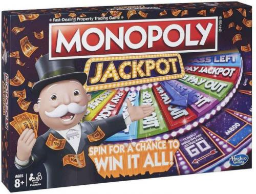 Hasbro Gra Monopoly Jackpot (B7368)