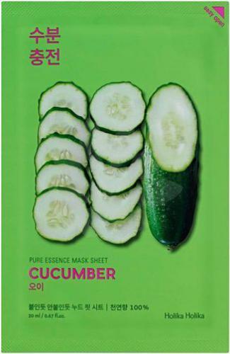 Holika Holika Pure Essence Mask Sheet-Cucumber 1szt