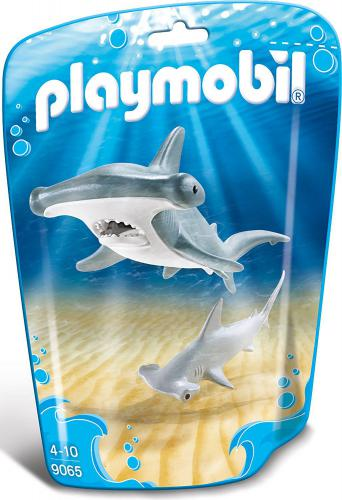 Playmobil Family Fun - hammerhead shark with baby (9065)