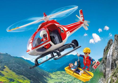 Playmobil Action, Helikopter ratowniczy (9127)