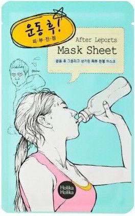 Holika Holika Mask Sheet Maska w płacie After Leports-po treningu 1szt