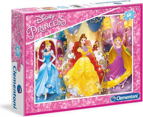Clementoni 60 EL. Księżniczki Disneya (08430)