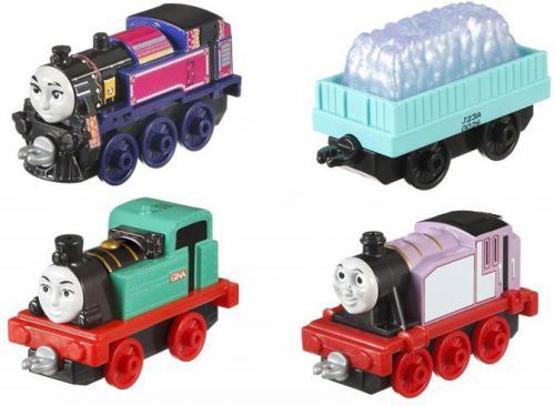 Mattel Tomek i Przyjaciele - wielopak lokomotywek - Adventure