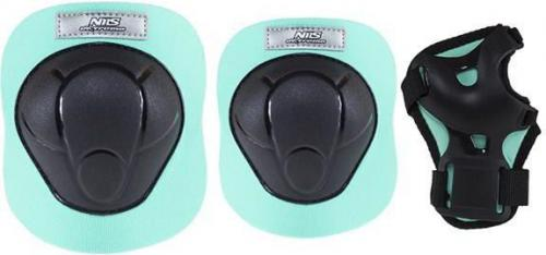 NILS Extreme H210 czarno-miętowy rozm.M zestaw ochraniaczy (16-60-019)