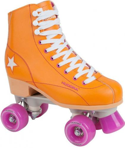 Hudora Wrotki Rolls Roller Disco Orange/Purple r. 39 (13204)