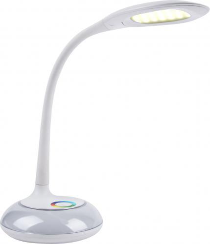 Lampka biurkowa Polux Cosmos LED biała (DEL21)