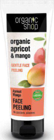 Organic Shop Delikatny enzymatyczny peeling do twarzy  Morela i mango 75ml