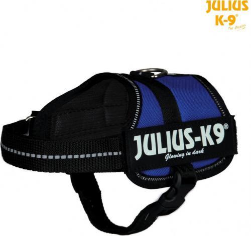 Trixie Szelki dla szczeniąt Julius-K9 2/XS–S: 33–45 cm, niebieskie