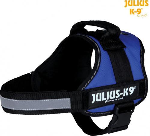 Trixie Szelki Julius-K9 Gr. 0-3 - Niebieskie L-XL