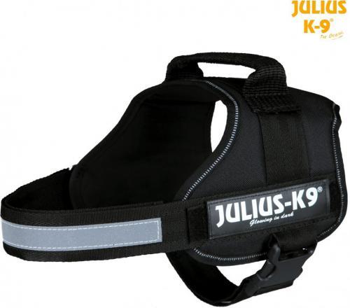 Trixie Szelki Julius-K9 Gr. 0-3 - Czarne M-L