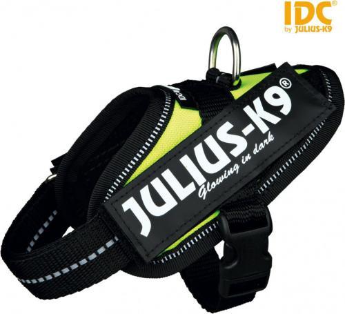 Trixie Szelki Julius-K9 IDC Baby 1 XS - Neonowo-żółte