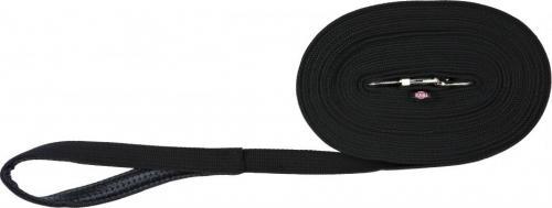 Trixie Smycz parciana - Czarna 5m x 2cm