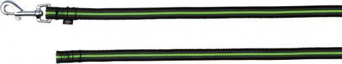 Trixie Smycz Fusion - 5mx17mm Czarno-zielona
