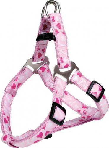 Trixie Uprząż One Touch Modern Art Rose Heart XS - Różowa