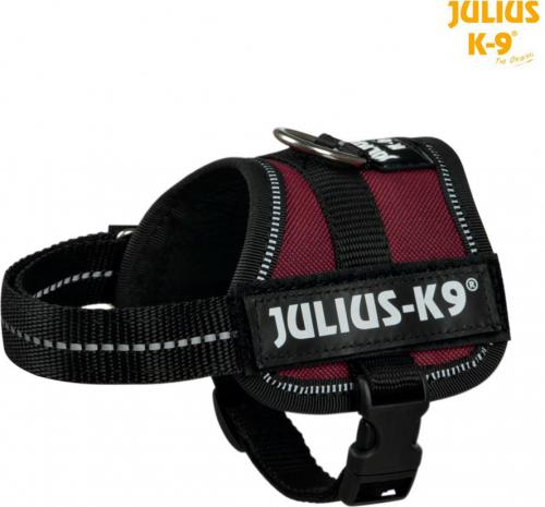 Trixie Szelki Julius-K9 Baby/Mini-Mini/Mini XS-S - Bordowe