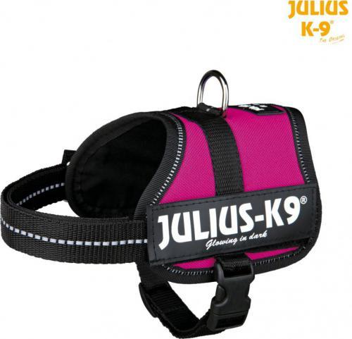 Trixie Szelki Julius-K9 Baby/Mini-Mini/Mini S - Fuksja